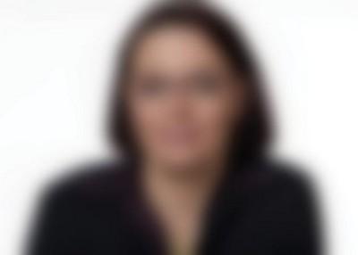 Portret met troebel zicht